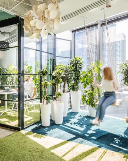 Home-like office for Allegro