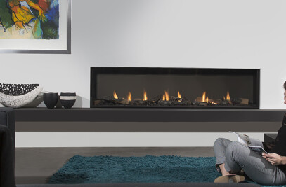 Modore 185 Fireplace
