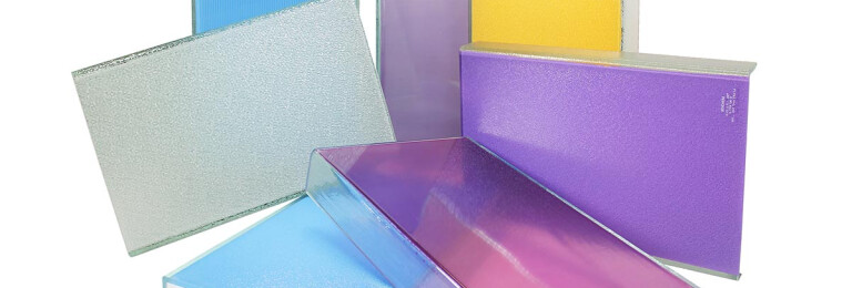 Fritted Channel Glass
