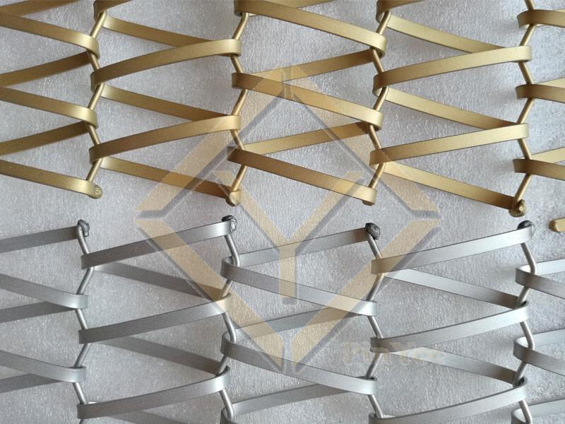 Architectural Spiral Mesh