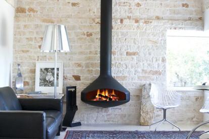 Paxfocus Indoor Wood or Gas Fireplace