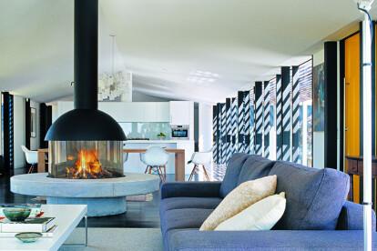 Mezzofocus Wood or Gas Fireplace