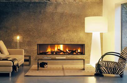 Neofocus 1500 & 1800 Wood Fireplace