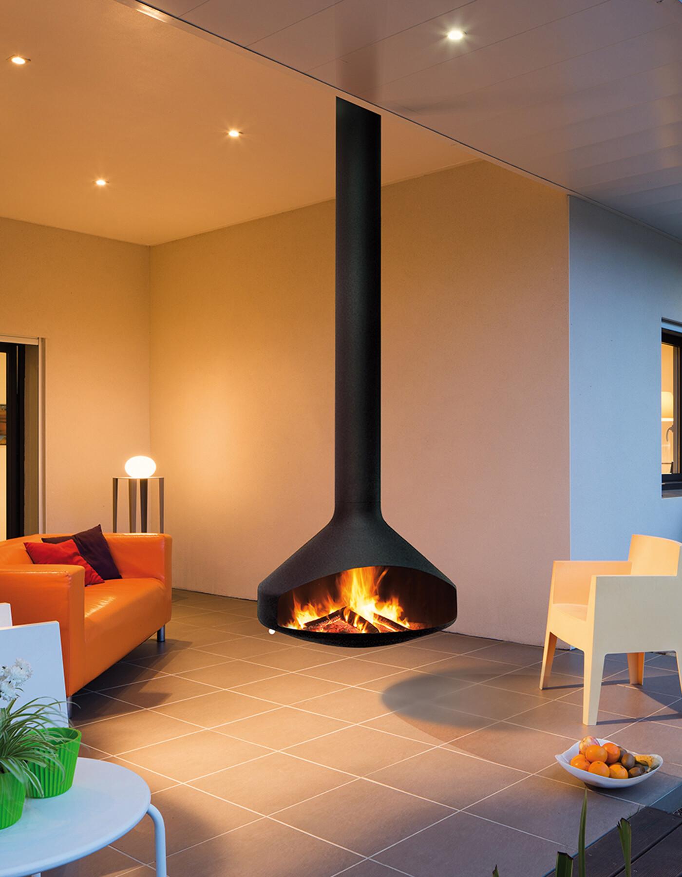 Ergofocus Outdoor Fireplace