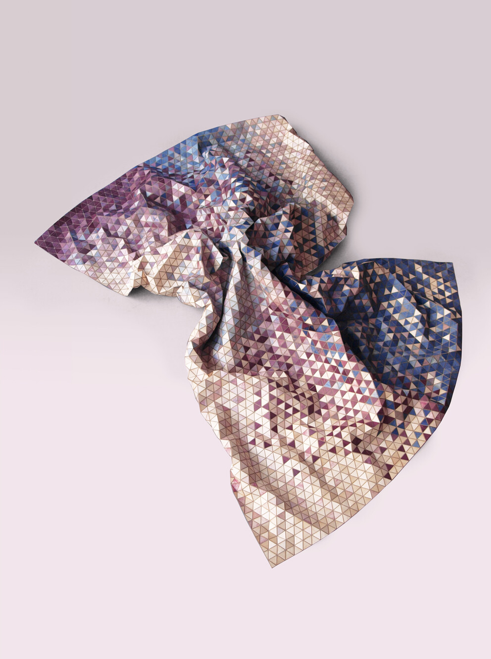 Dyed Wooden Textile