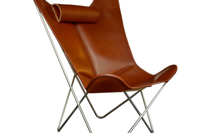 Hardoy Butterfly Chair Leather Grand Comfort