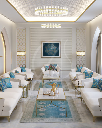 Designer Home Interiors: Modern Islamic Home Interior Design