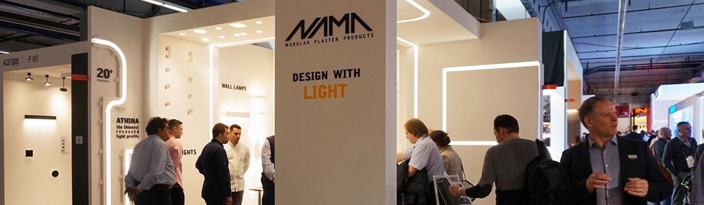 NAMA modular plaster products