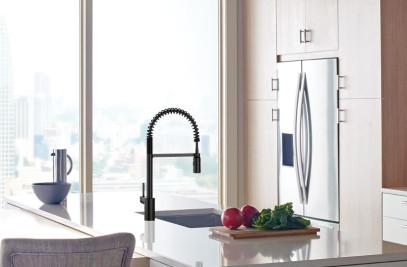 Align Pre Rinse Spring Kitchen Faucet By Moen Archello