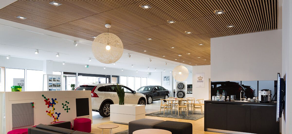 Solid wood ceiling systems