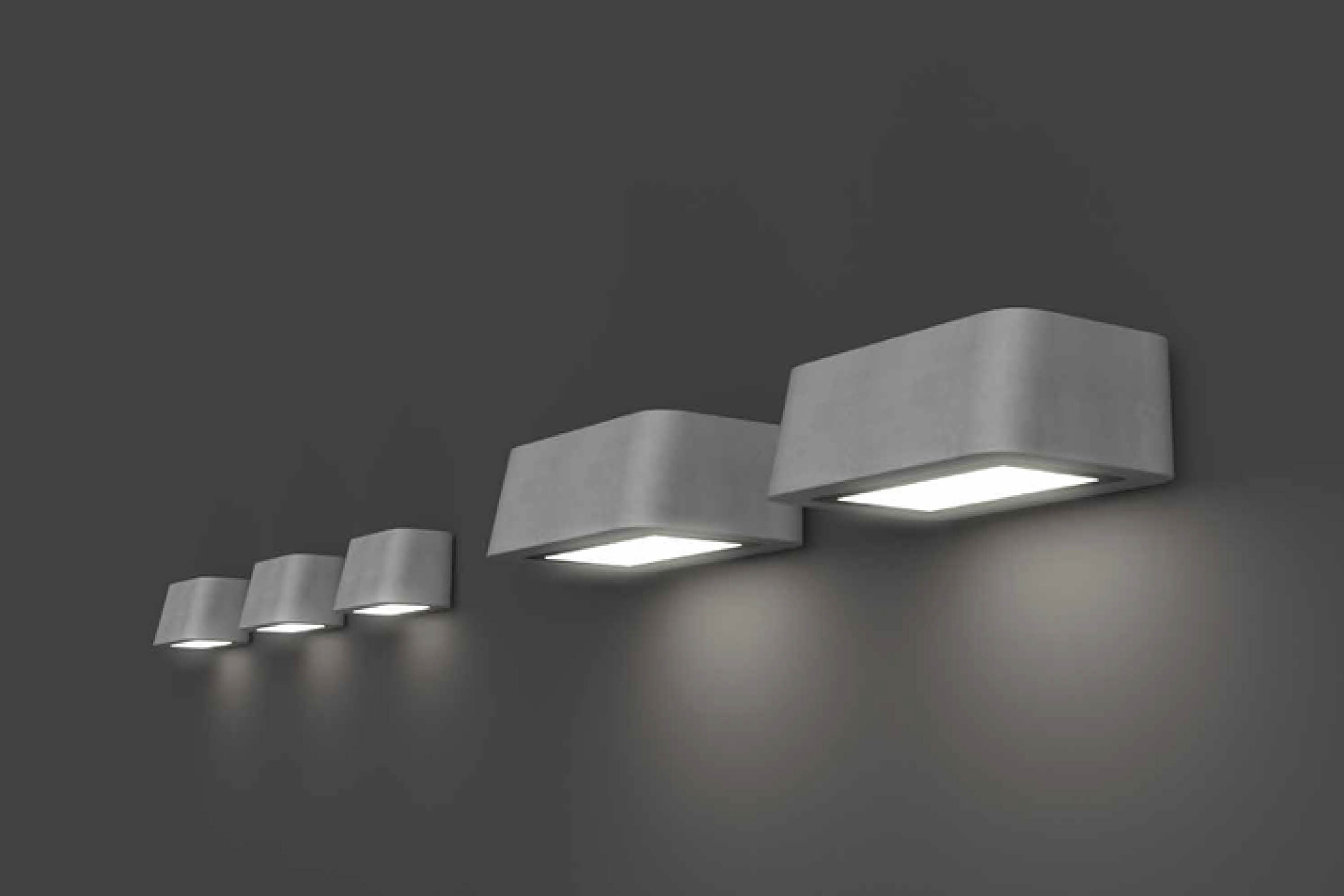 Brenta | L and S wall mounted luminaires