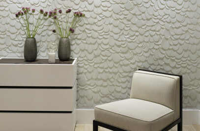 Peace 3D Wallcovering