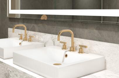 Dia® Widespread Lavatory Faucet