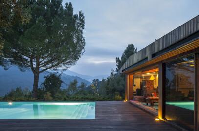Projecto Arquitectura Casa Vale Douro - MJARC
