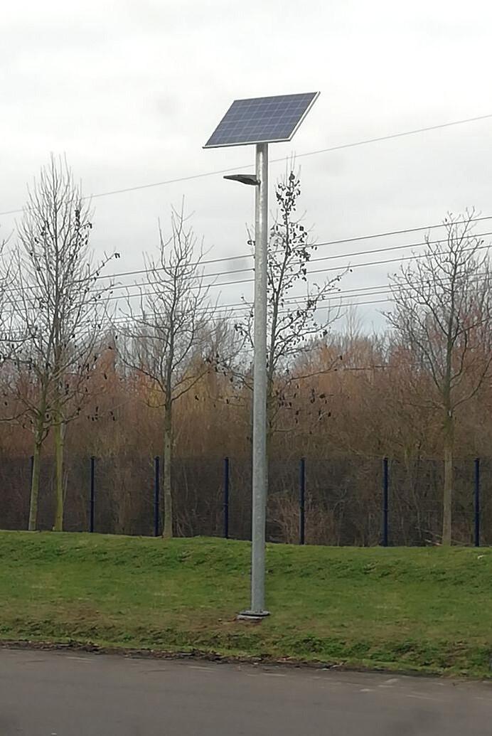 Solar luminaire SUNNY I