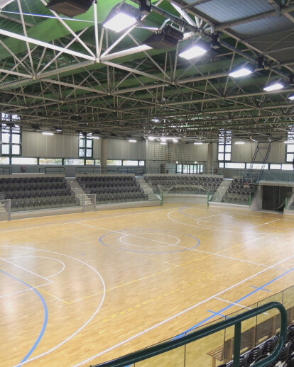 Palasport renovation in Maniago