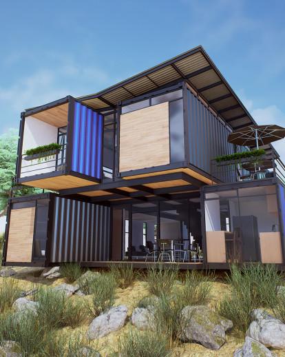 Cabaña Container