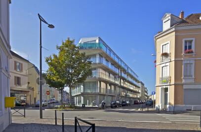 59 dwellings, Neppert gardens, Mulhouse