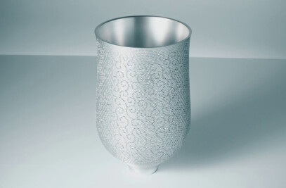 four-layer vase
