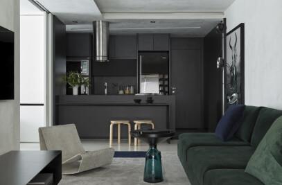 B&W Apartment