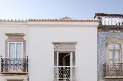Town house refurbishment in Tavira, Portugal.