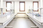 Science laboratory benches