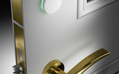 Design lock Ælement Fusion by SALTO Systems | Archello