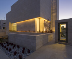 LUCEM Lichtbeton – Light transmitting concrete Amman Capital Bank facade