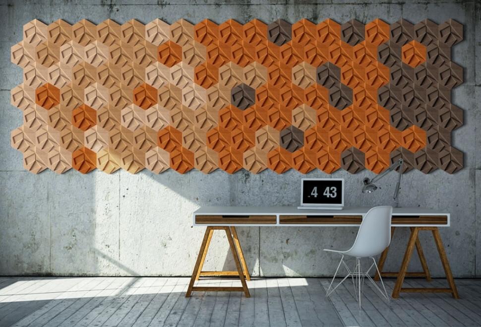 Organic Blocks - Hexagon