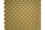 Classic Antique-Gold wallcovering panel