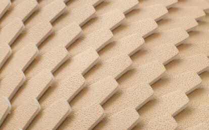 Essence Caramel wallcovering detail