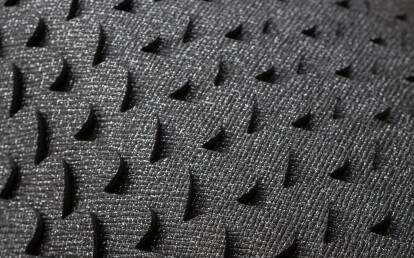 Classic Metaori-Black wallcovering detail