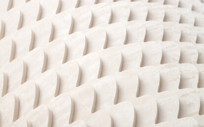 Essence Mirage-Sand right wallcovering detail
