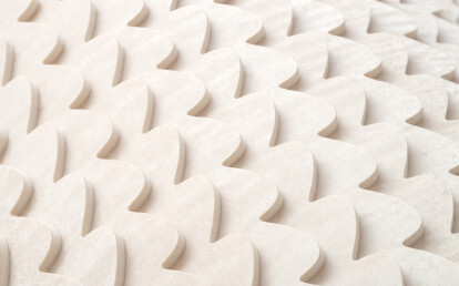Essence Mirage-Sand zigzag wallcovering detail