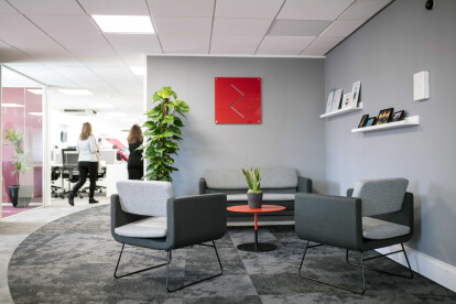 RedRock New Office Space| Reception