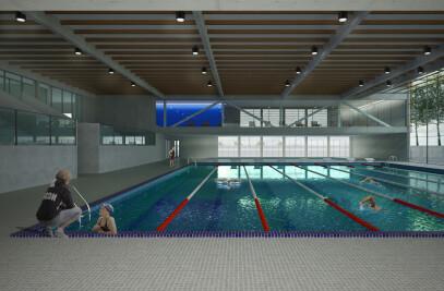 New sport center