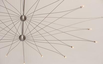 SPOETNIK Mini Mega (chandelier 20 arms) by FERROLIGHT Design