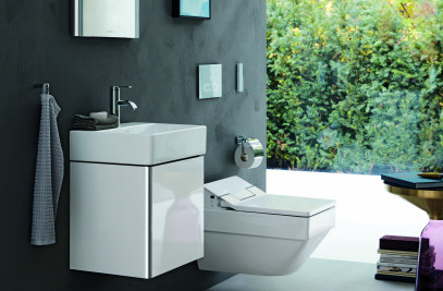 Vero Air/SensoWash Slim rimless toilet