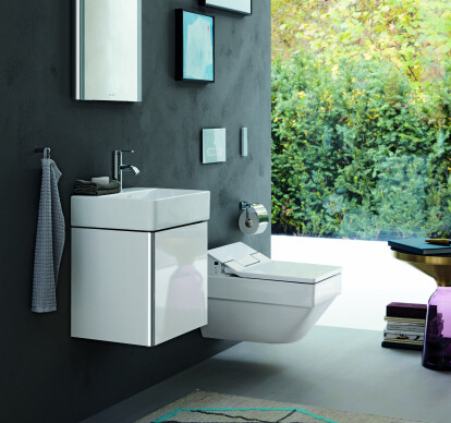 Vero Air/SensoWash Slim rimless toilet