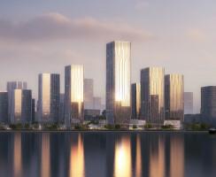 Hengqin Science City Phase II Plot 2, Zhuhai, China, by Aedas