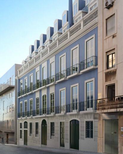 Hotel do Chiado Projeto arquitectura