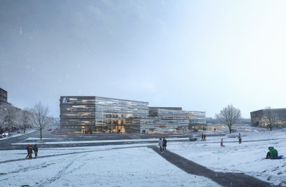 New building for the Icelandic bank - Landsbankinn