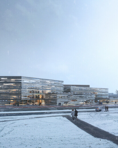 New building for the Icelandic bank - Landsbankinn