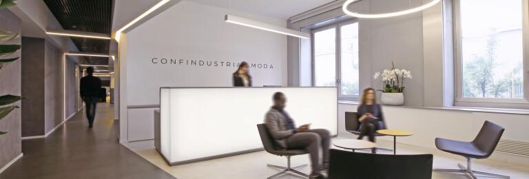Il Prisma for confindustria moda -  welcome area