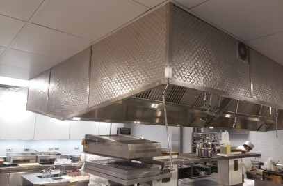 Kitchen Hood Cover The Pool New York