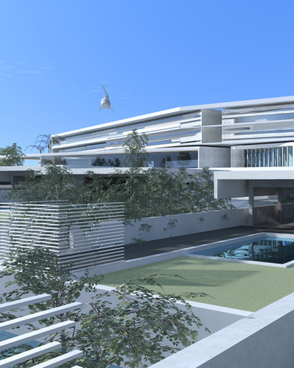 Concept for a 7-star hotel in Thessaloniki, Greece