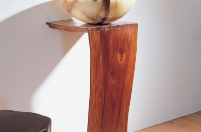 Wood L-Slab Pedestal