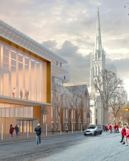 St. Michael's Cathedral Block Master Plan