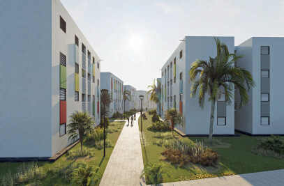 Haiti Social Housing Development in Morne A Cabrit