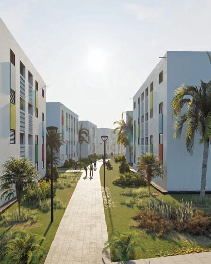 Haiti Social Housing Development in Morne A Cabrit